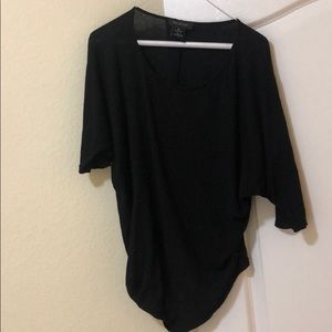Perfect Black T-shirt by Miss Me - Med